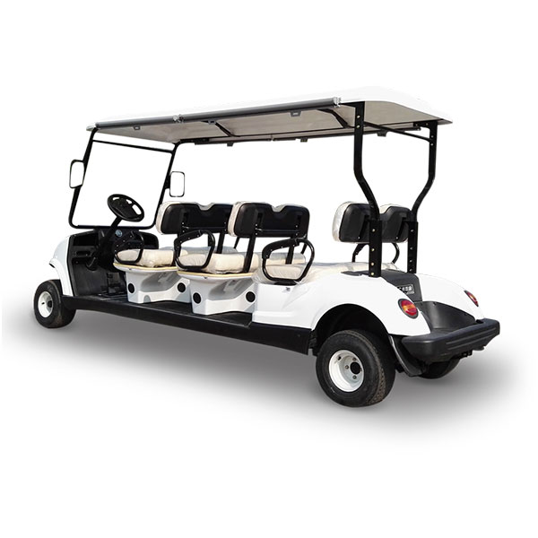 six seat models low speed vehicle golf cart