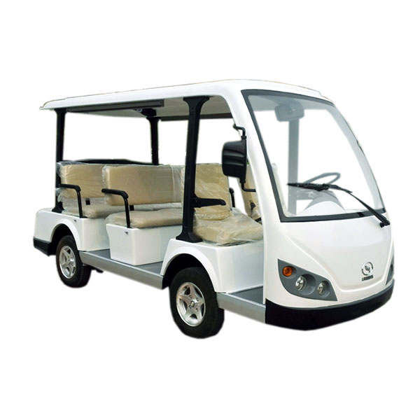 8 seats electric shuttle car